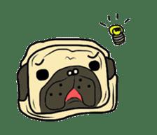 Pugsaku sticker #167933