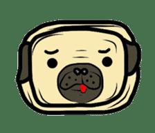 Pugsaku sticker #167934