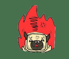 Pugsaku sticker #167938