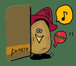 POTATO's!! sticker #168314