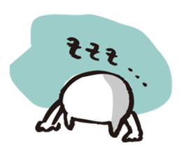 Cat no motivation sticker #168668