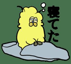 alpaca & octopus sticker #169408