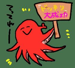 alpaca & octopus sticker #169409