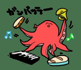 alpaca & octopus sticker #169413