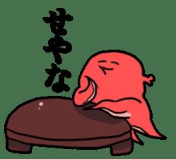 alpaca & octopus sticker #169416