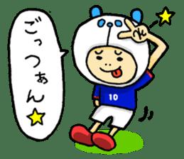 Football Panda sticker #170067
