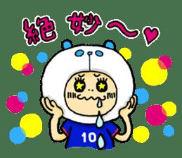 Football Panda sticker #170068