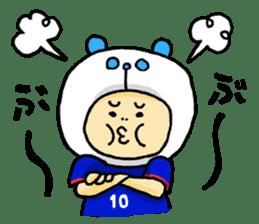 Football Panda sticker #170081