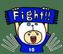 Football Panda sticker #170084