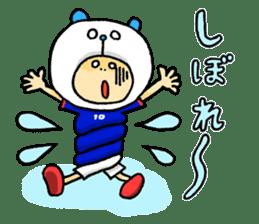 Football Panda sticker #170098