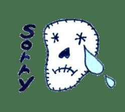 Skeleton JOE sticker #170604