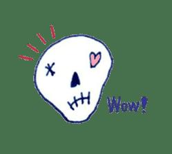 Skeleton JOE sticker #170605