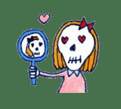 Skeleton JOE sticker #170609