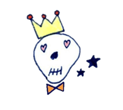 Skeleton JOE sticker #170616