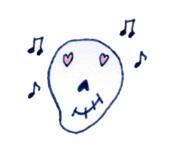 Skeleton JOE sticker #170617