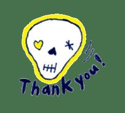 Skeleton JOE sticker #170618