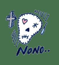 Skeleton JOE sticker #170619