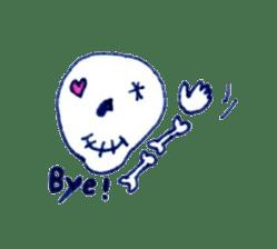 Skeleton JOE sticker #170624
