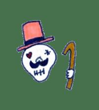 Skeleton JOE sticker #170625
