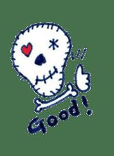 Skeleton JOE sticker #170629