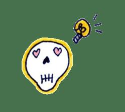 Skeleton JOE sticker #170631