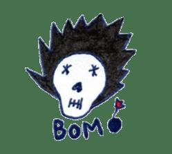 Skeleton JOE sticker #170635