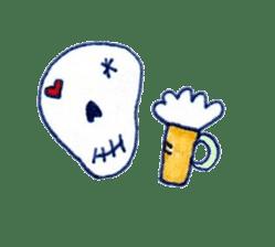 Skeleton JOE sticker #170637