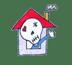 Skeleton JOE sticker #170638