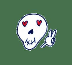 Skeleton JOE sticker #170639