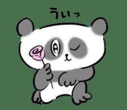 Bear&Panda sticker #170903