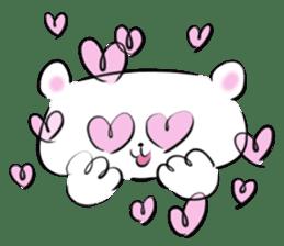 Bear&Panda sticker #170905