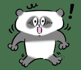 Bear&Panda sticker #170907