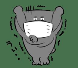 Bear&Panda sticker #170910