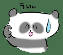 Bear&Panda sticker #170913