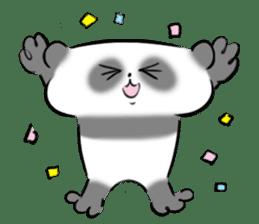 Bear&Panda sticker #170915
