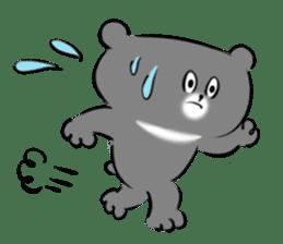 Bear&Panda sticker #170917