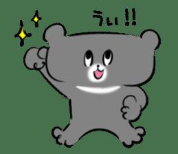 Bear&Panda sticker #170918
