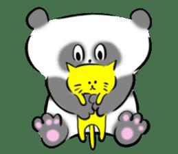 Bear&Panda sticker #170919