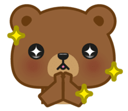 Coffee Bear sticker #171003