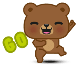Coffee Bear sticker #171004