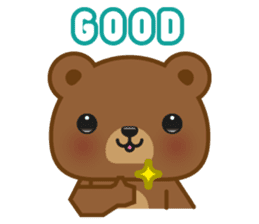 Coffee Bear sticker #171008