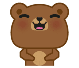 Coffee Bear sticker #171009