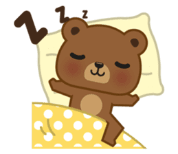 Coffee Bear sticker #171013