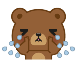Coffee Bear sticker #171021