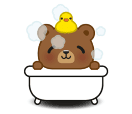 Coffee Bear sticker #171022