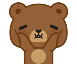 Coffee Bear sticker #171032