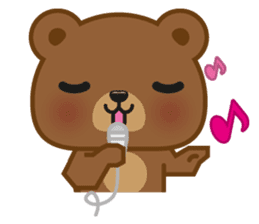 Coffee Bear sticker #171035
