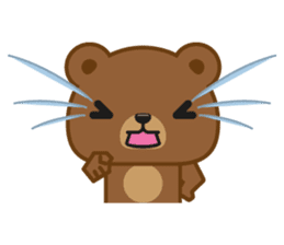Coffee Bear sticker #171038