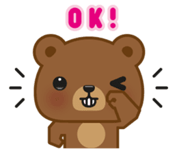 Coffee Bear sticker #171039