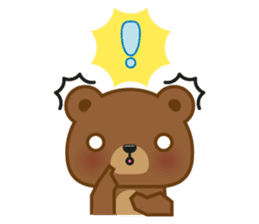 Coffee Bear sticker #171040